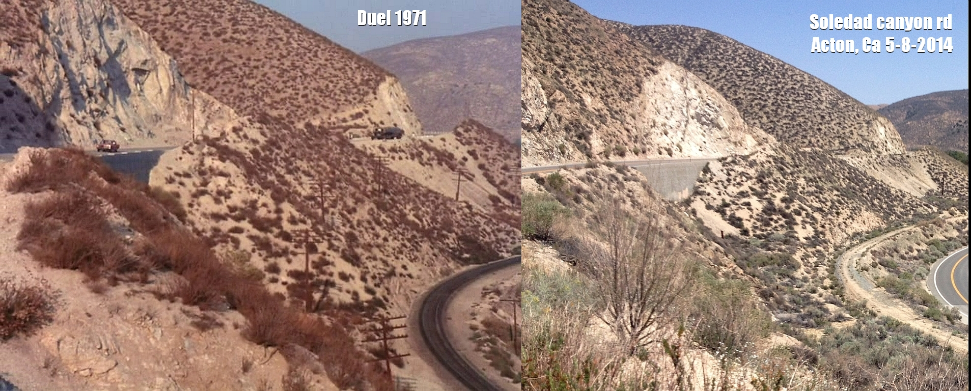 Duel Soledad cyn rd then and now